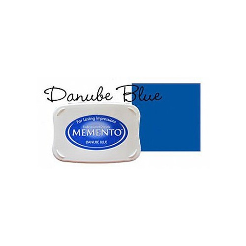 Memento Dye Ink Pad - Danube blue ME-600