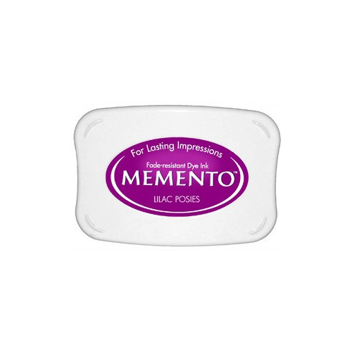 Memento Dye Ink Pad - Lilac Posies ME-501