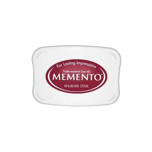 Memento Dye Ink Pad -  Rhubarb stalk (ME-301)