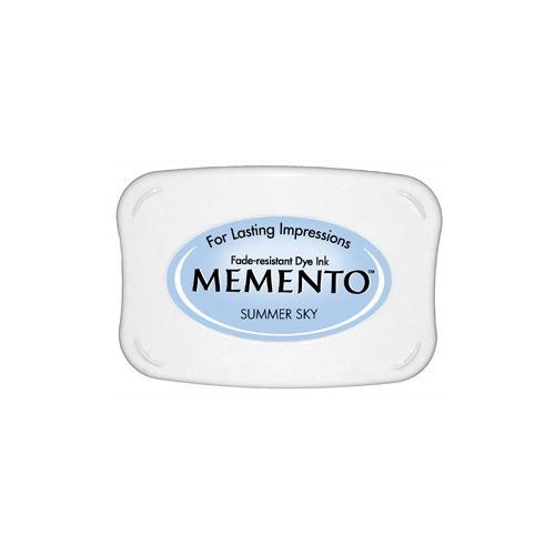 Memento Dye Ink Pad -  Summer Sky (ME-604)