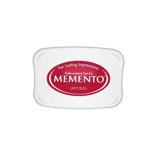 Memento Dye Ink Pad - Lady Bug (ME-300)