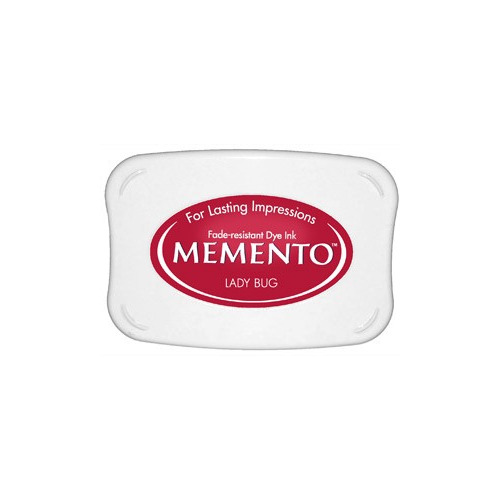 Memento Dye Ink Pad - Lady Bug (ME-300)