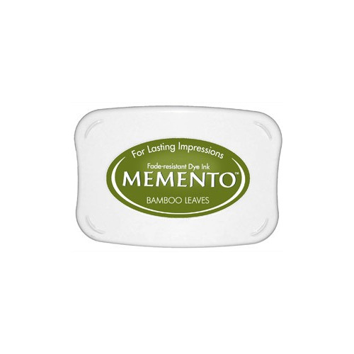Memento Dye Ink Pad - Bamboo Leaves (ME-707)