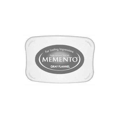 TSUKINEKO Memento Ink Pad - Gray Flannel