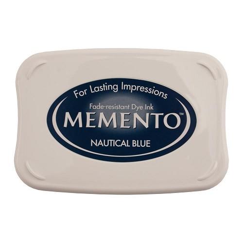 Memento nautical blue