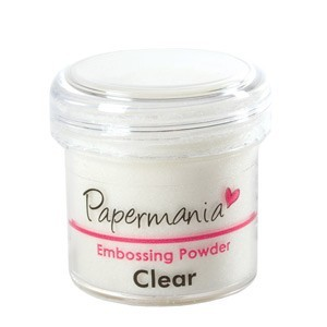 EMBOSSING POWDER 1 OZ CLEAR