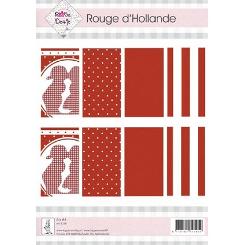 Rosa Dotje Rouge d'Hollande A4 Paper Pack (8328)