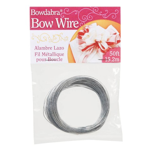 Bowdabra® Bow Wire - Silver