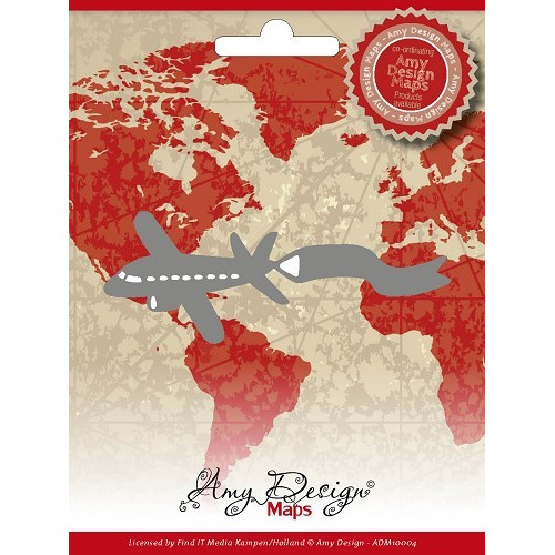 Amy Design - Maps - Airplane