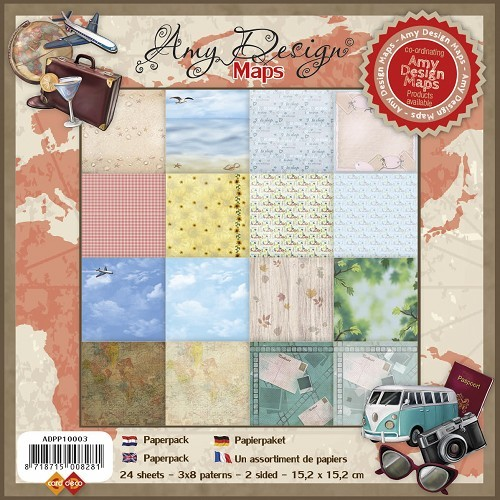 Amy Design - Maps - Paperpack
