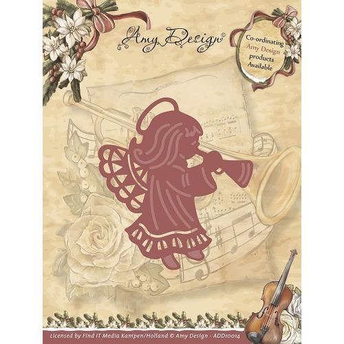 Die - Amy Design - Vintage Christmas Collection Die - Angel