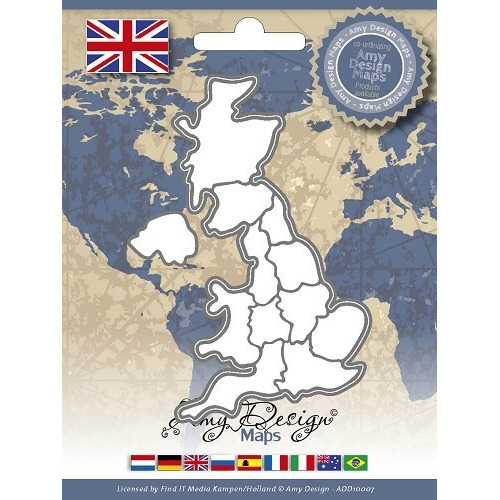 Amy Design - Maps - United Kingdom