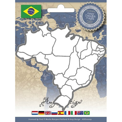 Amy Design - Maps - Brazil