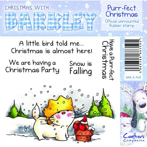 Barkley Christmas Stamp - Purr-fect Christmas by Crafter's Compa