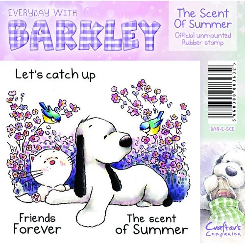 Barkley Everyday Stamp - The Scent Of Summer by Crafter`s Compan