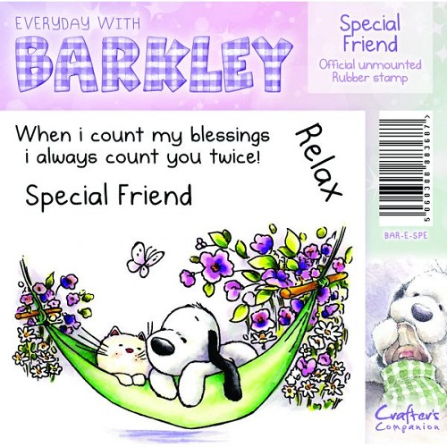 Barkley Everyday Stamp - Special Friend by Crafter`s Companion