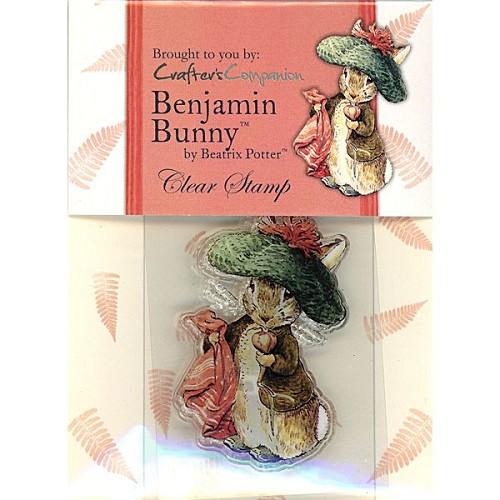Beatrix Potter Acrylic Stamp - Benjamin Bunny