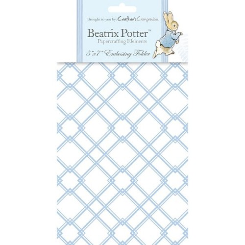 Beatrix Potter Embossing Folder - Male 1