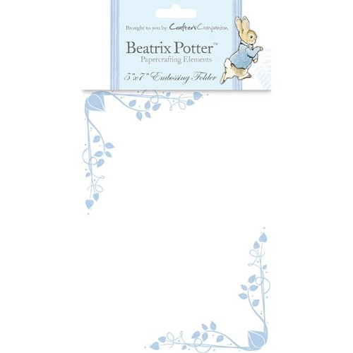 Beatrix Potter Embossing Folder - Male 2