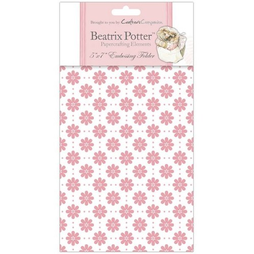 Beatrix Potter Embossing Folder - Female 2