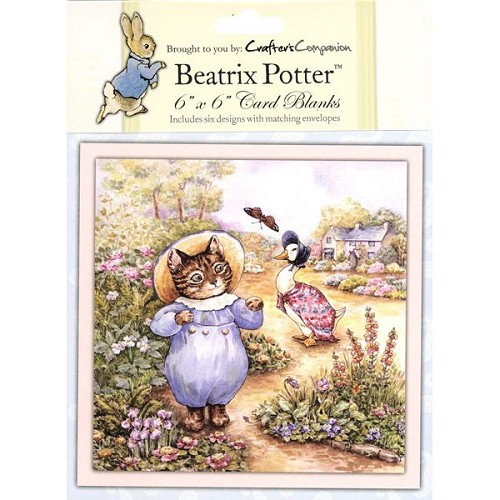 Beatrix Potter Card Blank 6 pack - 6