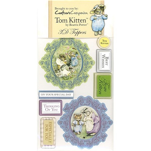 Beatrix Potter 3D Toppers Set - Tom Kitten