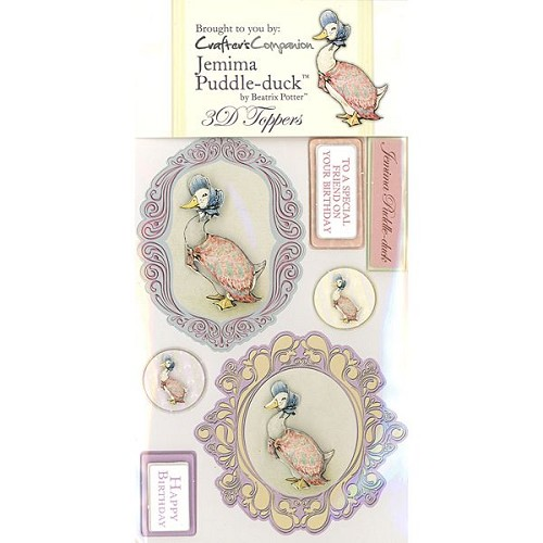 Beatrix Potter 3D Toppers Set - Jemima Puddle-duck