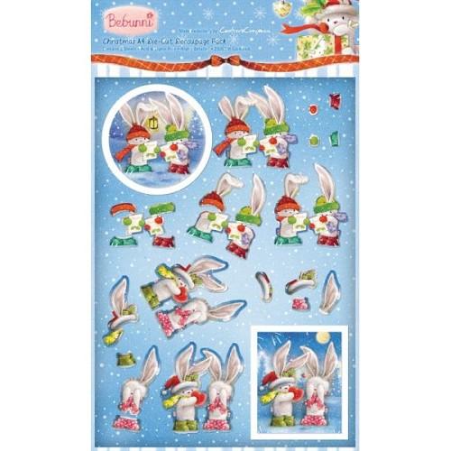 Bebunni Kerst A4 knipvel door Crafter`s Companion