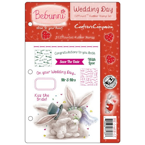Bebunni Love EZMount Stamp Set - Wedding Day