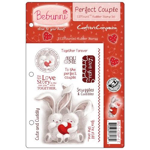 Bebunni Love EZMount Stamp Set - Perfect Couple
