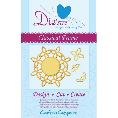 Die`sire Decorative Die - Classical Frame