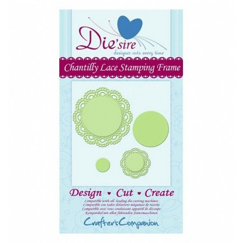 Die'sire Decorative Die - Chantilly Lace Stamping