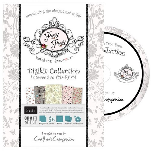 Crafters Companion Frou Frou Digikit Collection CD-ROM