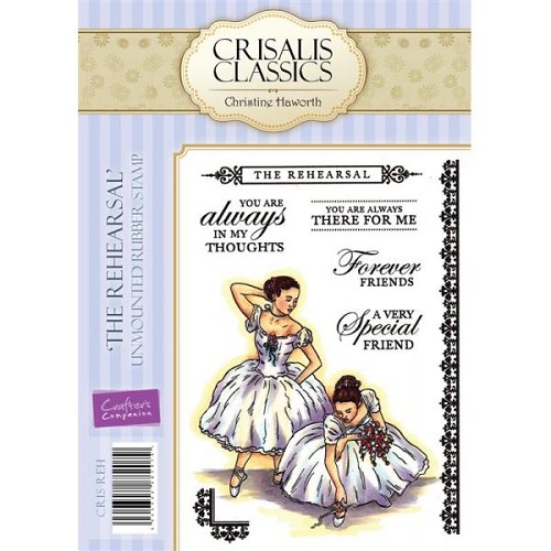 Crisalis Classics Unmounted Rubber Stamp Set - The Rehearsal by