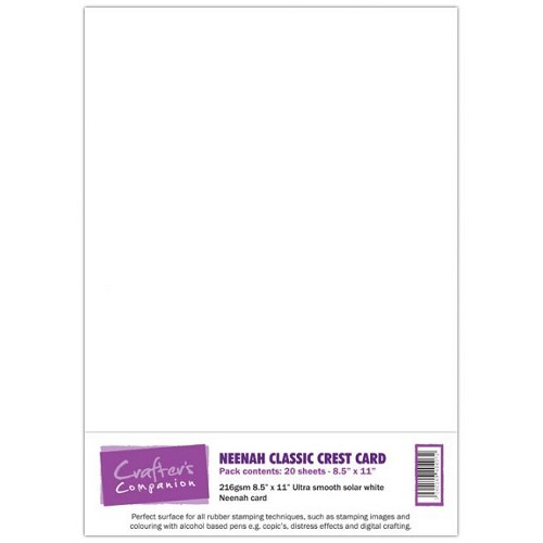 Neenah Classic Crest Card Pack 20 sheets