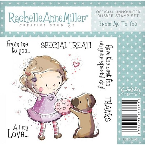 Crafters Companion Rachelle Anne Miller - Rubber Stamp kinderen