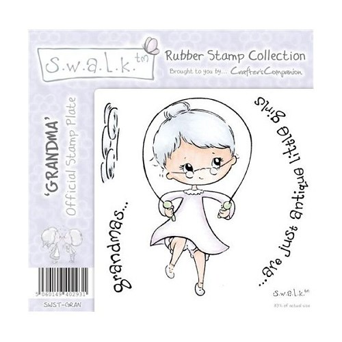 S.w.a.l.k. Unmounted Rubber Stamp - Grandma. by Crafter`s Compan