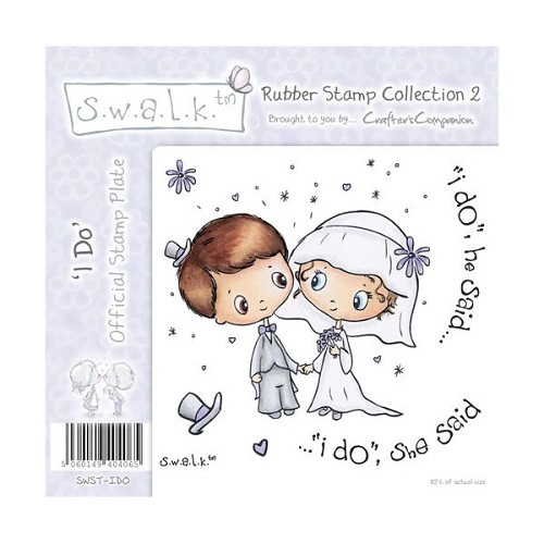 S.w.a.l.k. Unmounted Rubber Stamp - I Do. by Crafter`s Companion