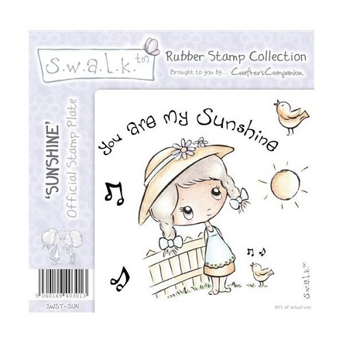 S.w.a.l.k. Unmounted Rubber Stamp - Sunshine. by Crafter`s Compa