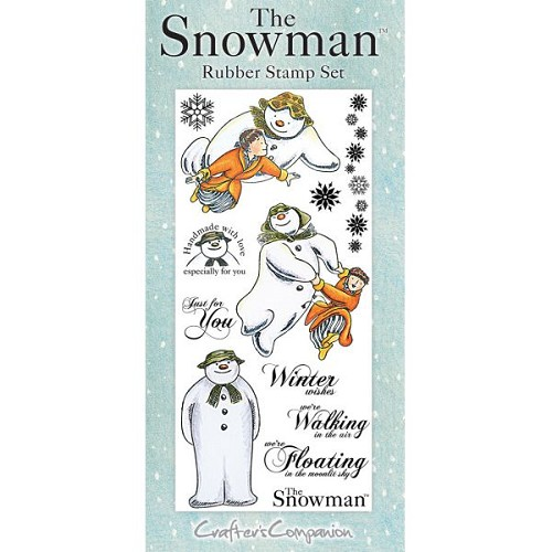 The Snowman Rubber Stamp Set