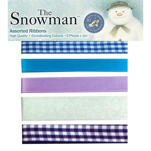 The Snowman Assorted Ribbons Pack