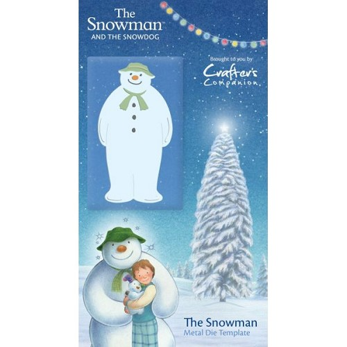 The Snowman Die by Crafter`s Companion
