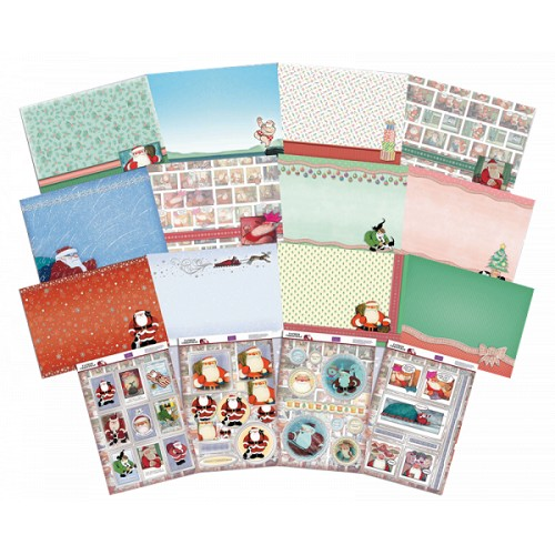 Father Christmas Papercrafting Kit by Crafter's Companion