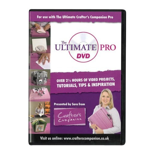 Crafters Companion Ultimate Pro DVD