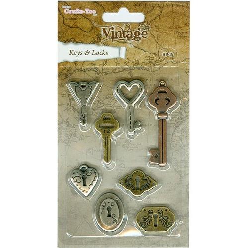 Crafts Too Vintage Selection - Keys & Locks