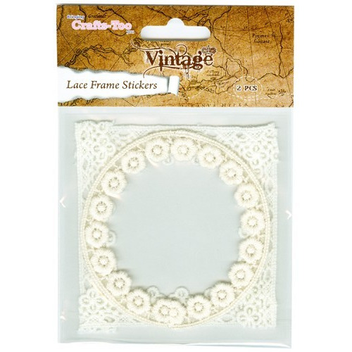 Crafts Too Vintage Selection - Lace Frame Stic