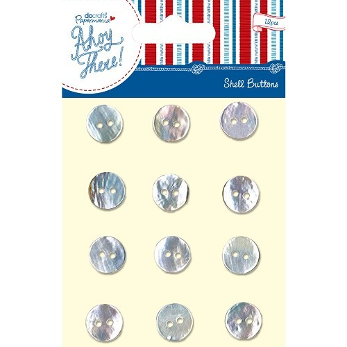 Shell Buttons (12pcs) - Ahoy There