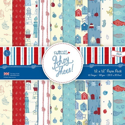 12 x 12 Paper Pack (32pk) - Ahoy There