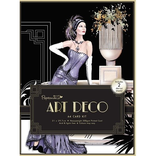 A4 Card Kit - Art Deco