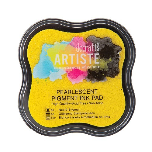 Pigment Ink Pad - Pearlescent Gold Shimmer
